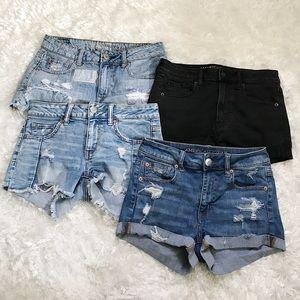 American Eagle Jean Shorts Bundle